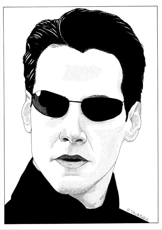 Keanu Reeves by P.Tavarner